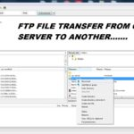FTP-file-transfer-from-one-server-to-another