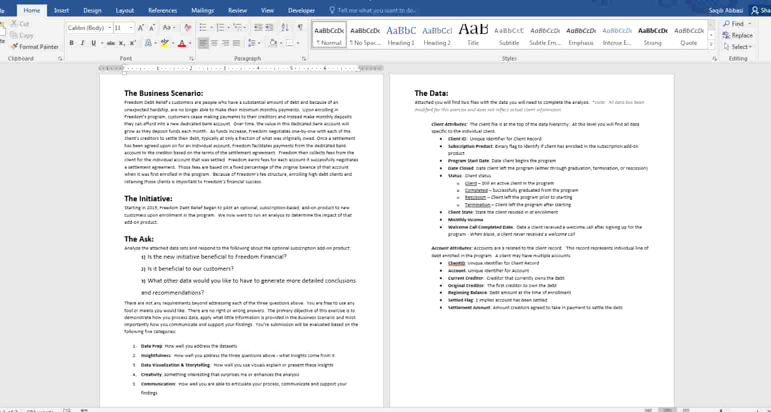 ms-word-project-copy typing