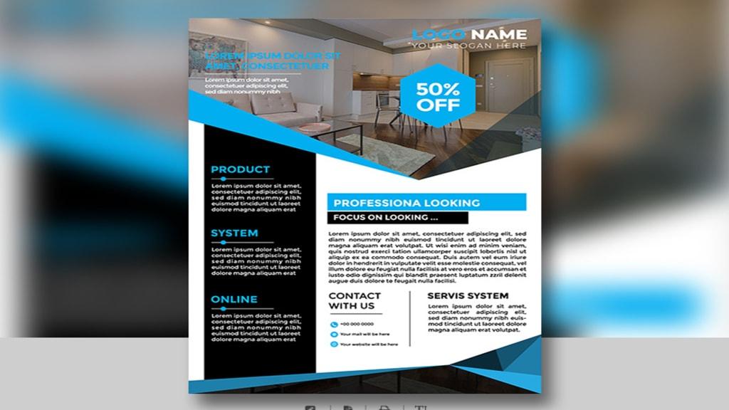 flyer design sample 1