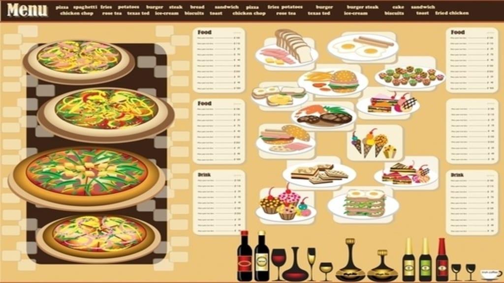 menu card design 1