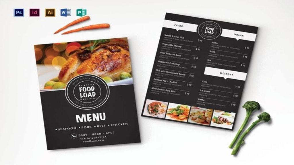 menu card design 3
