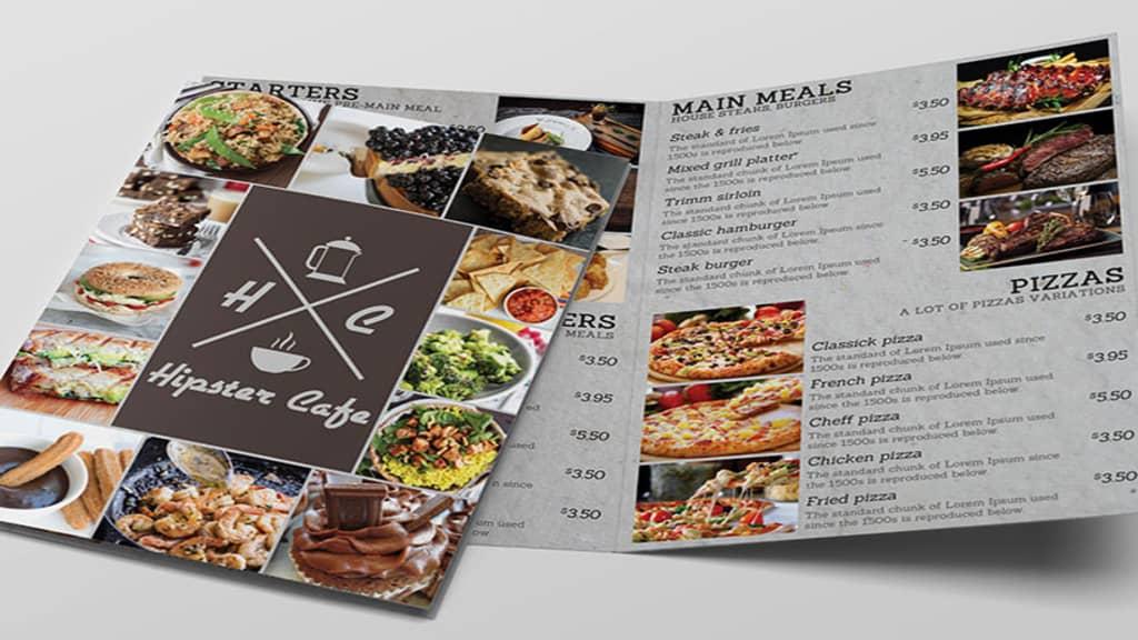 menu card design 4