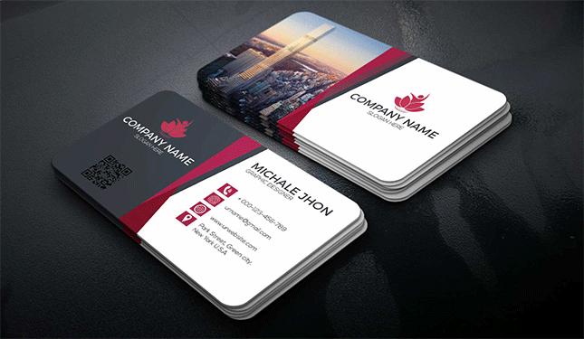 Business card design sample 12