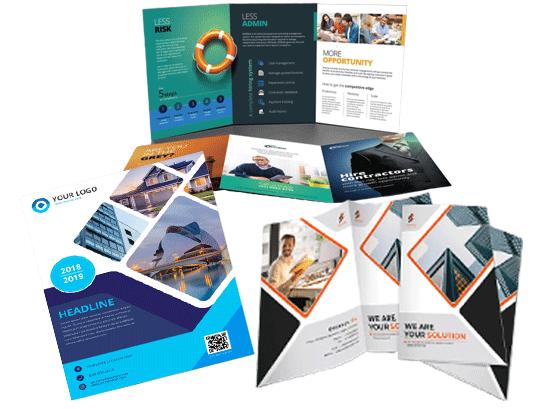 Brochure design sample10