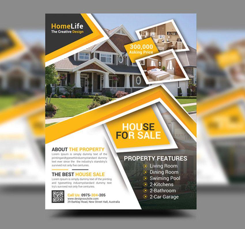 flyer real estate sample