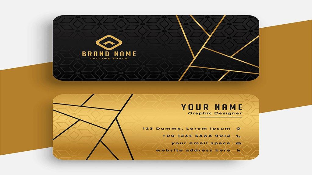 vip card design