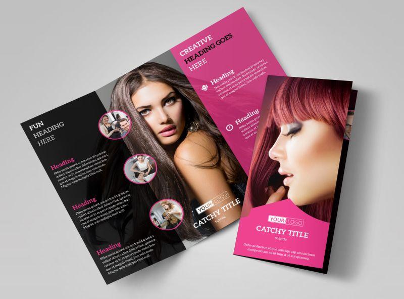 Beauty salon bifold