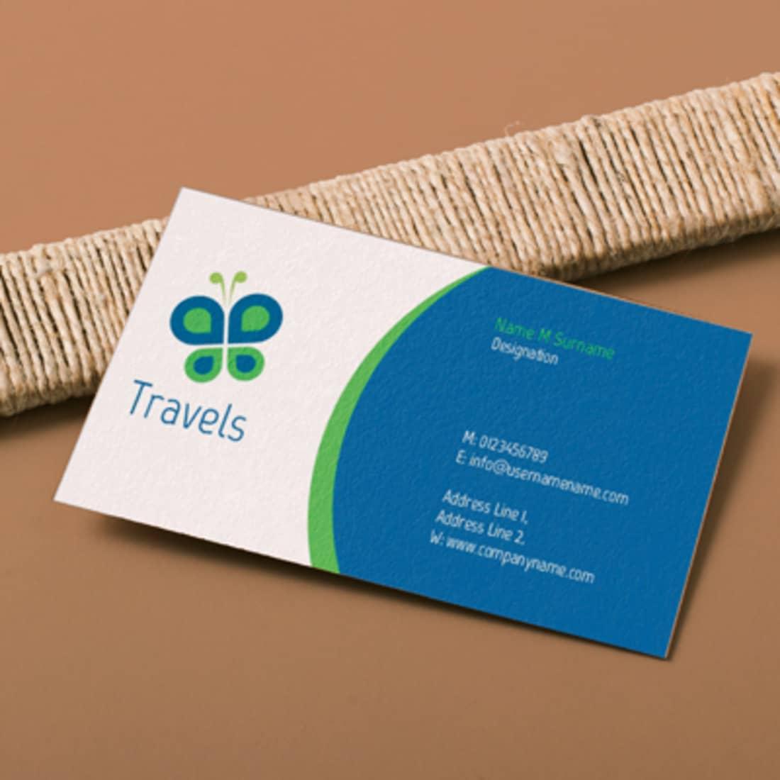 Travel Company card