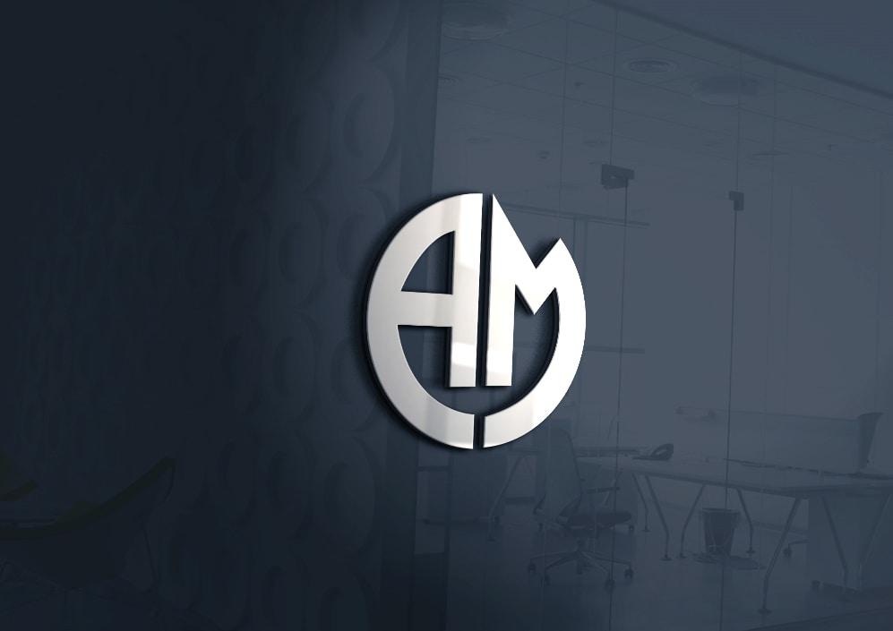 am-logo-design