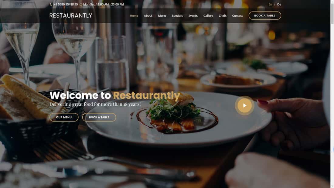 best-restaurant-theme-for-free