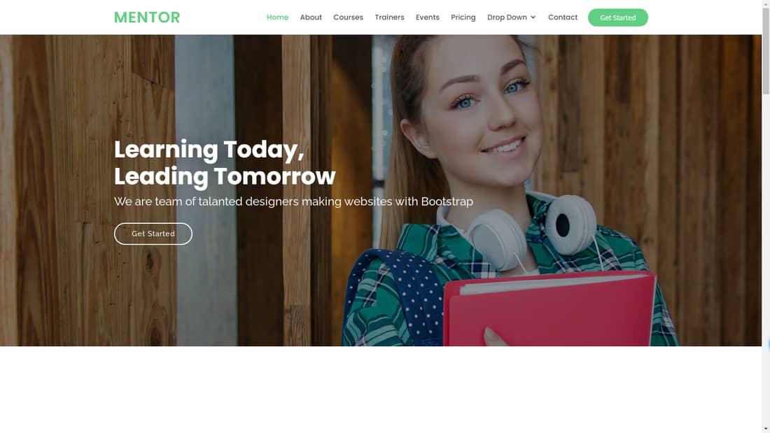 business website wordpress template