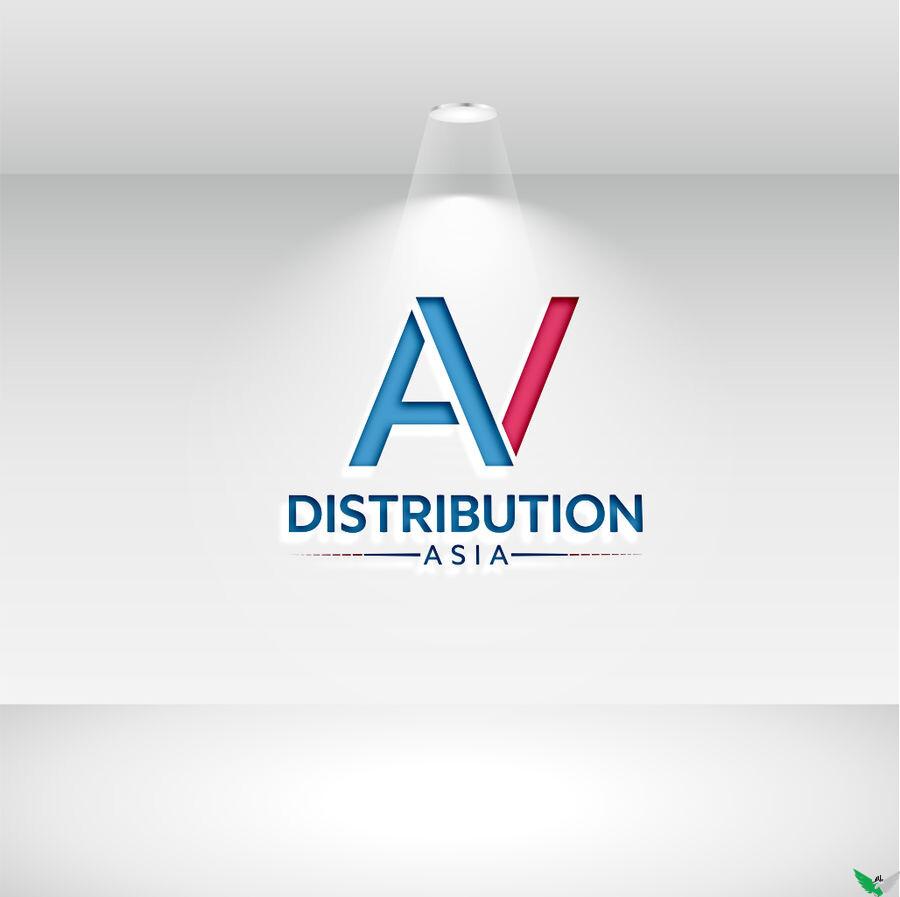 distribution asia logo design