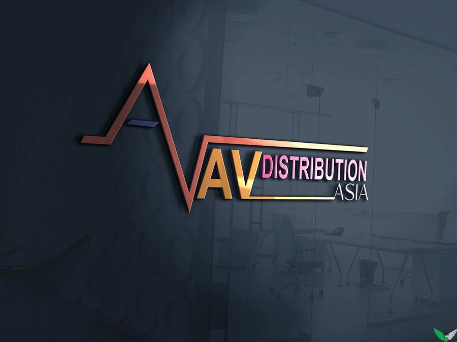 distribution logo design