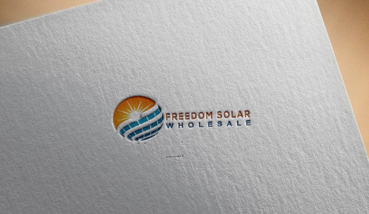 freedom-solar-logo-design