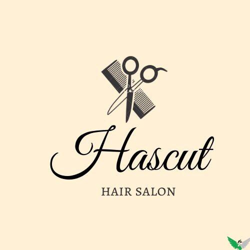 hascut hair salon logo