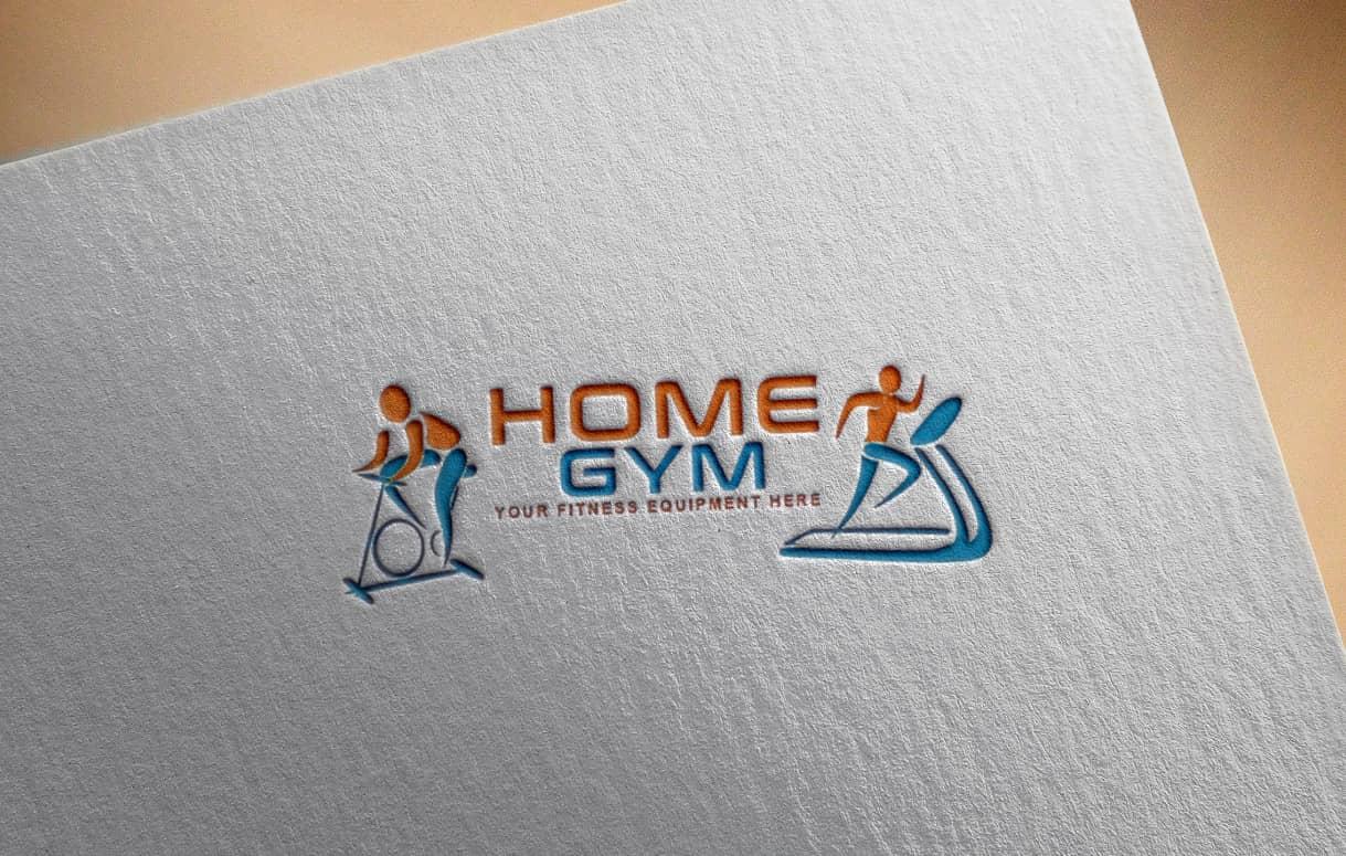 home-gym-logo-design