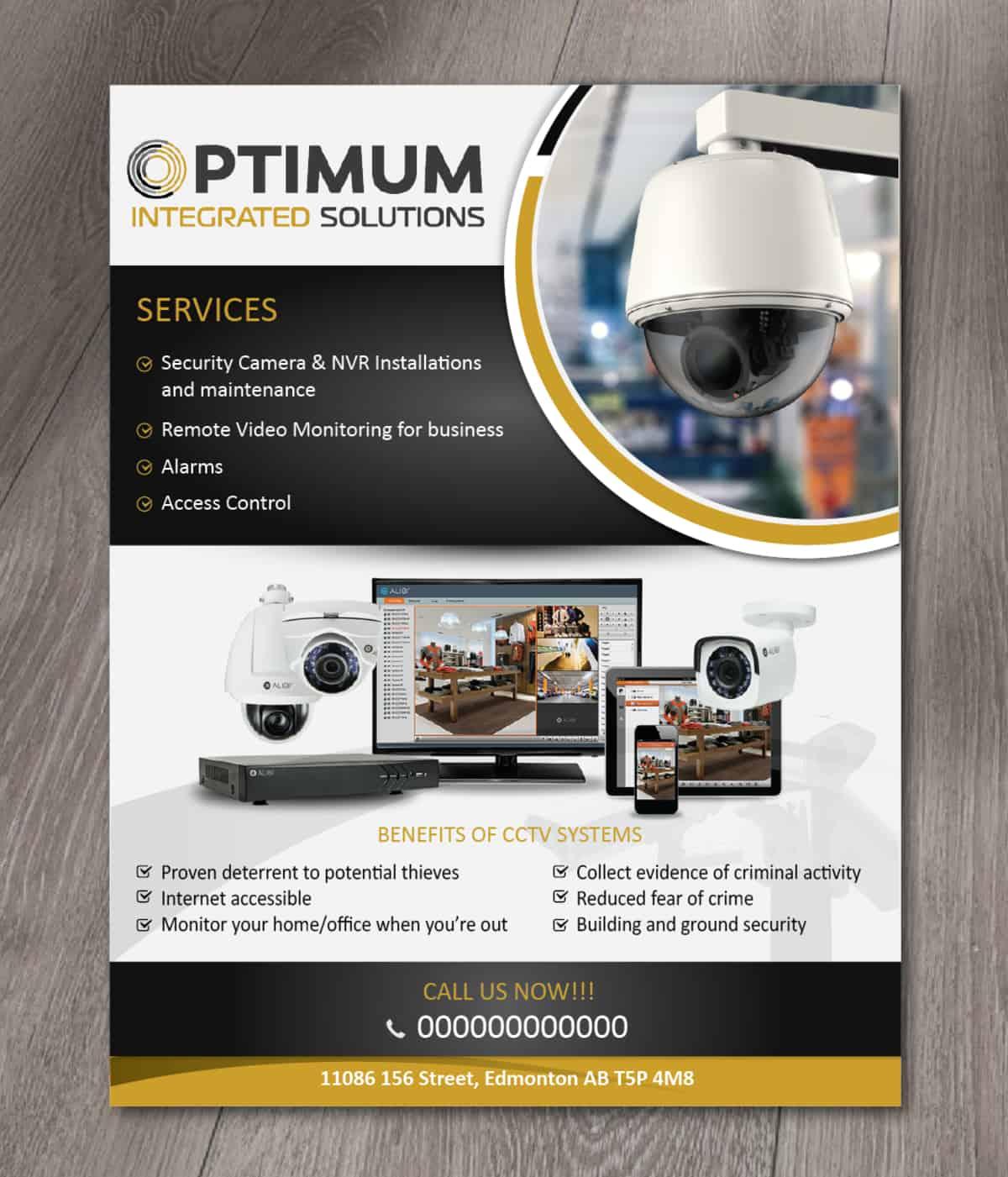 ptimum solutions flyer