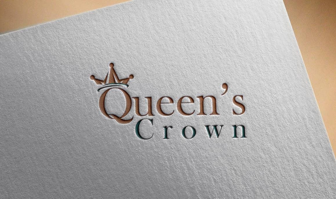 queen crown logo