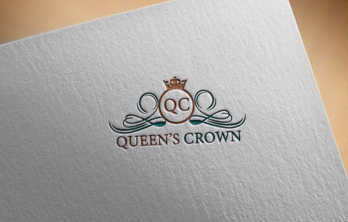 queen-crown-logo-design