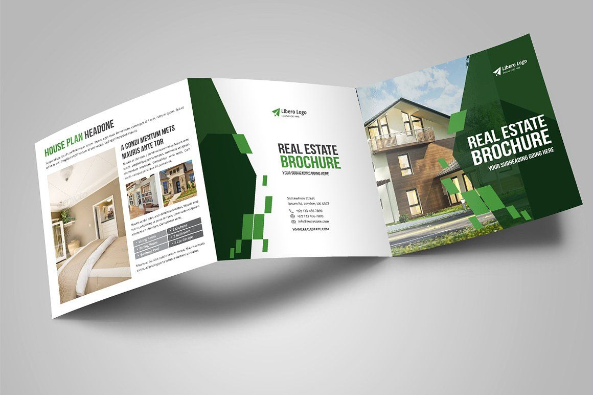 realestate trifold brochure
