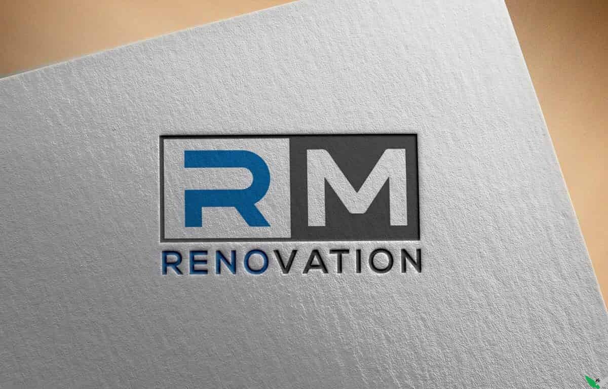 rm logo design