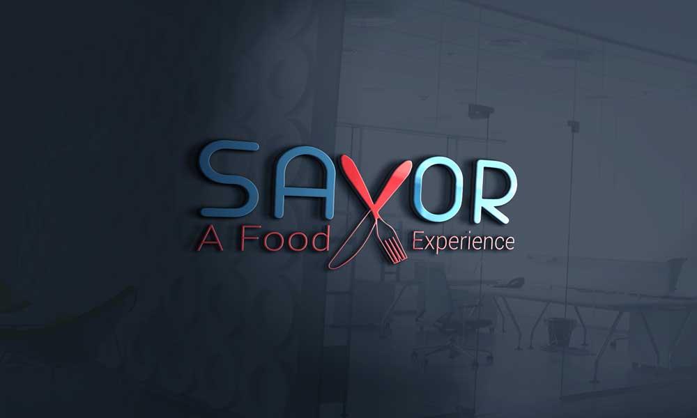 savor glass logo