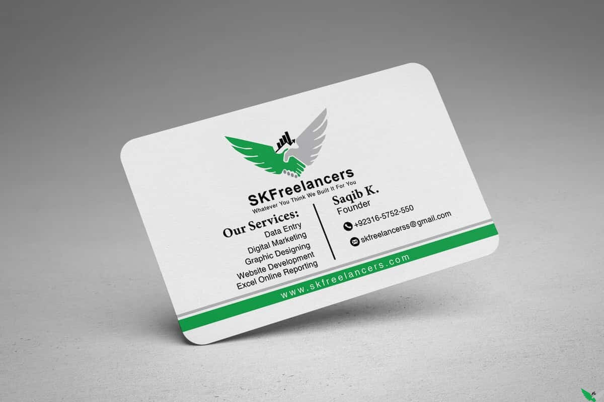 sk business card