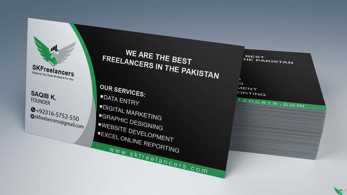 sk business card design