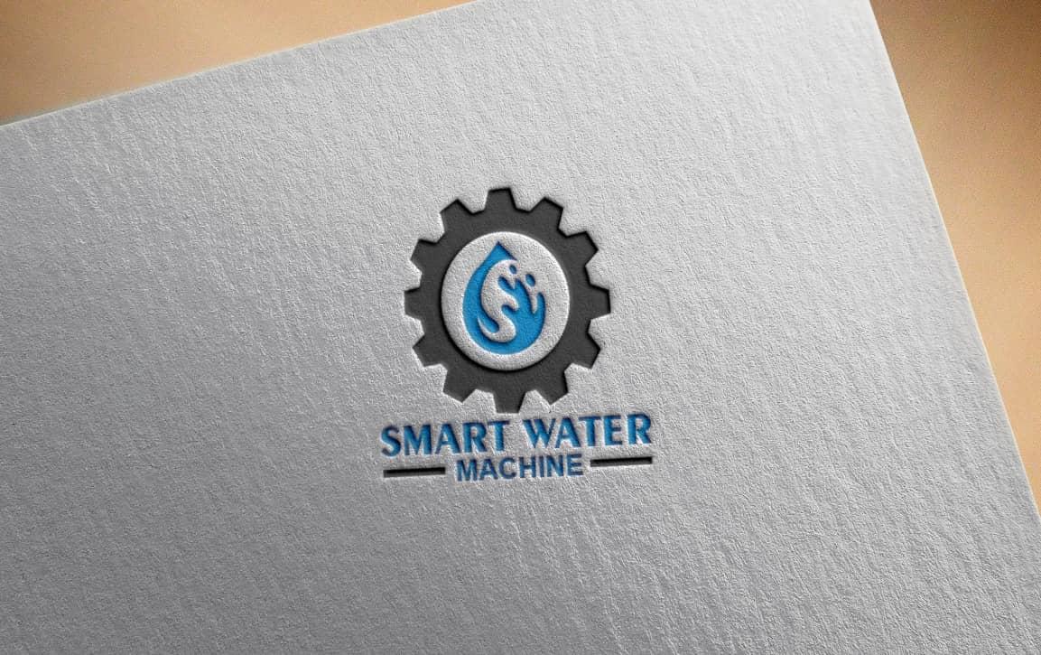 smart water vector logo