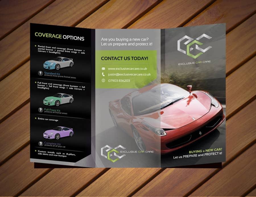 sportscard trifld brochure