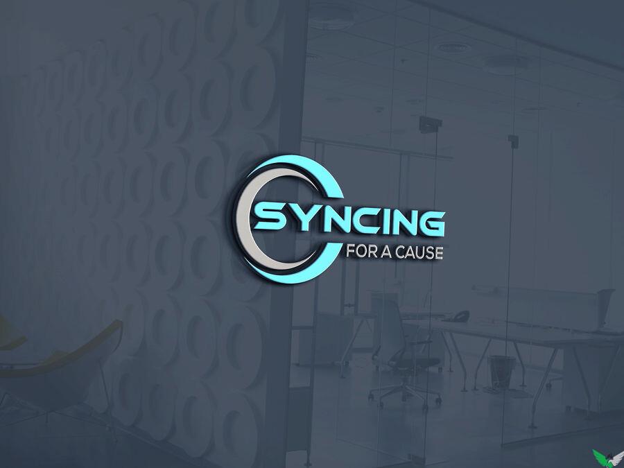 syncing logo design