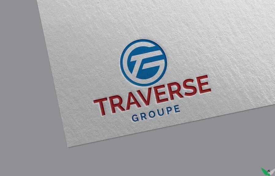 traverse groupe logo design