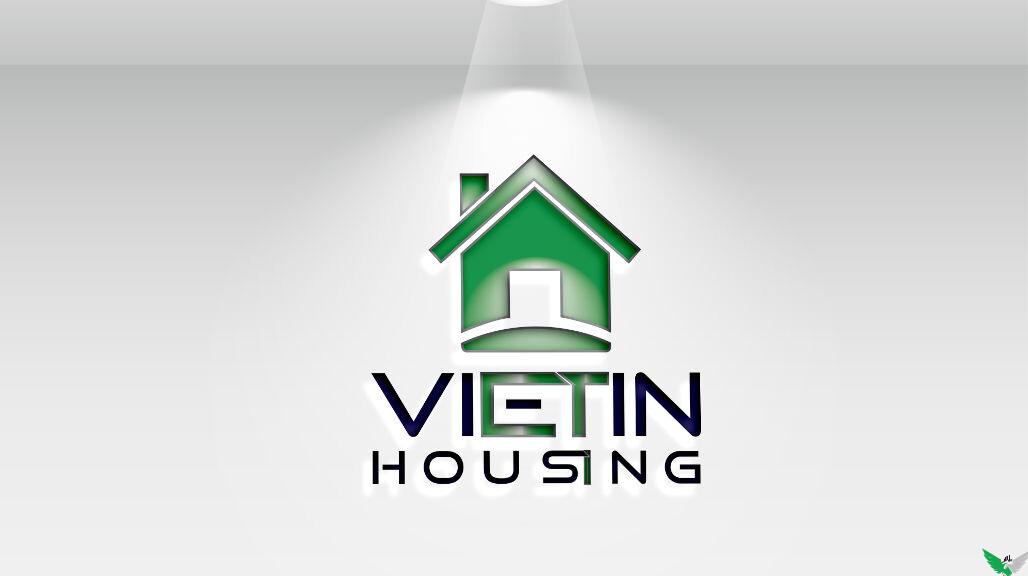 vietin housing logo design