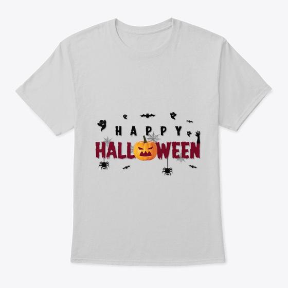 gray hallowen tshirt