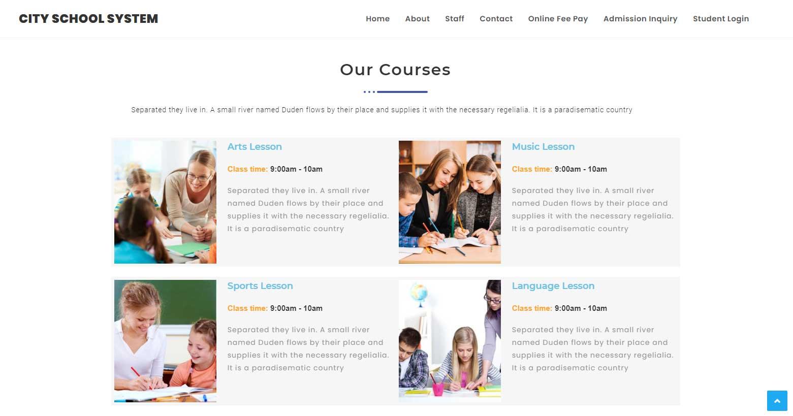 City-School-System-Course