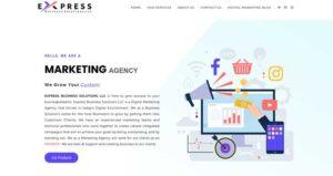 Express-biz-Homepage