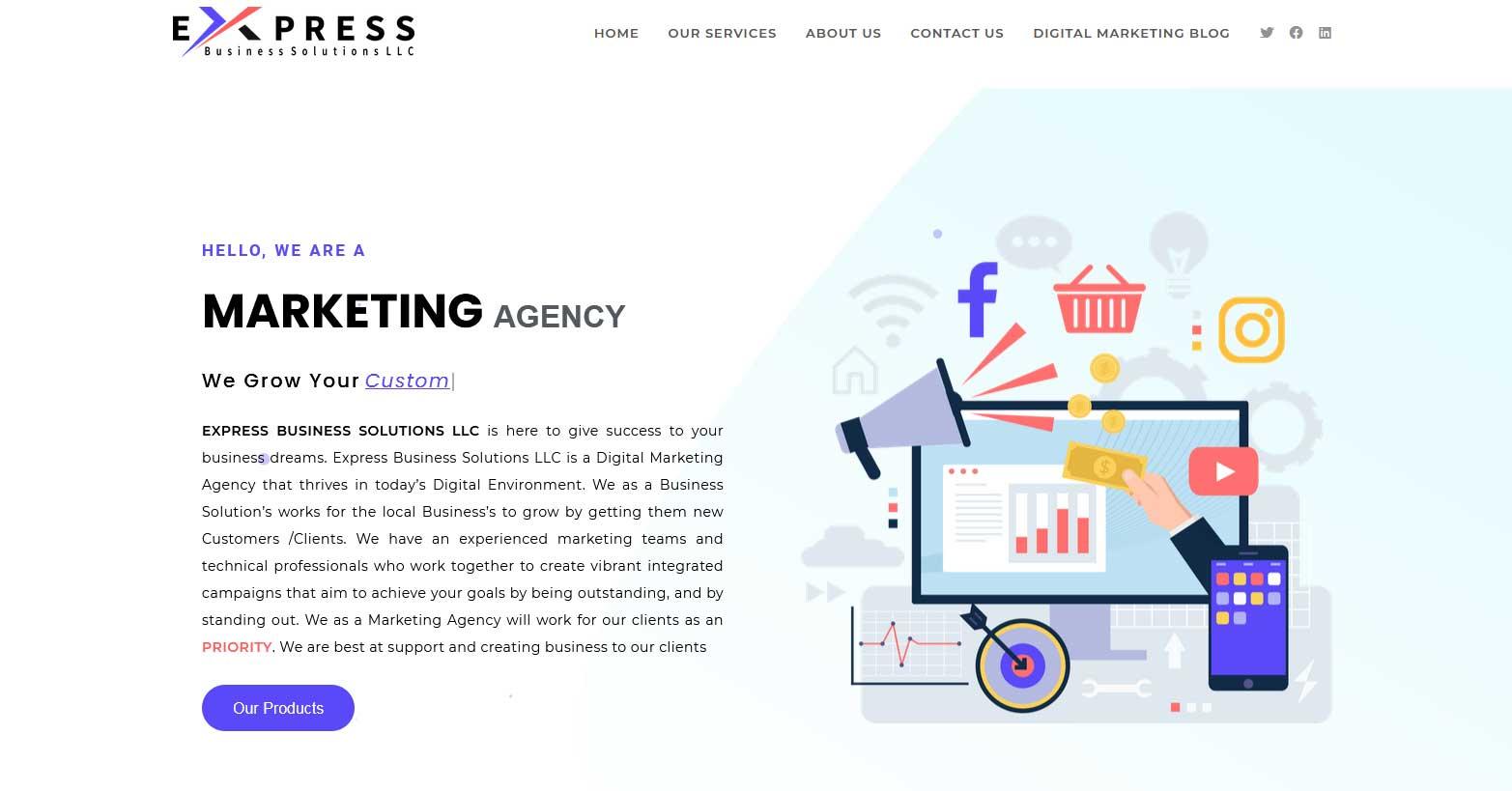 express-biz-sol-Homepage