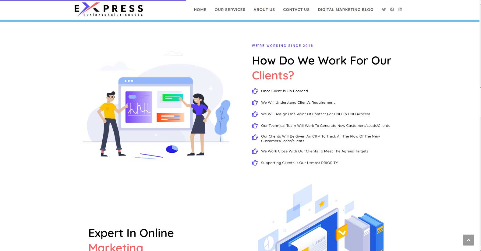 express-biz-sol-how-do-we-work-for-our-clients