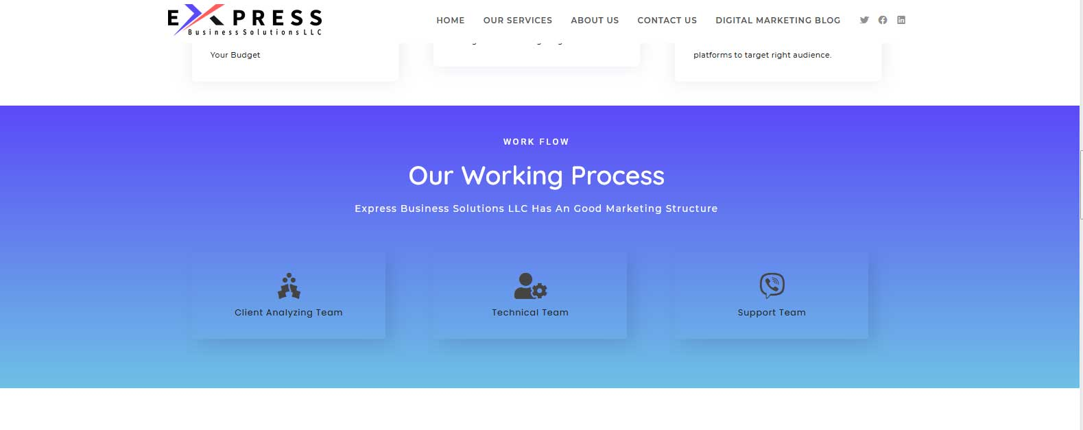 express-biz-sol-our-working-process