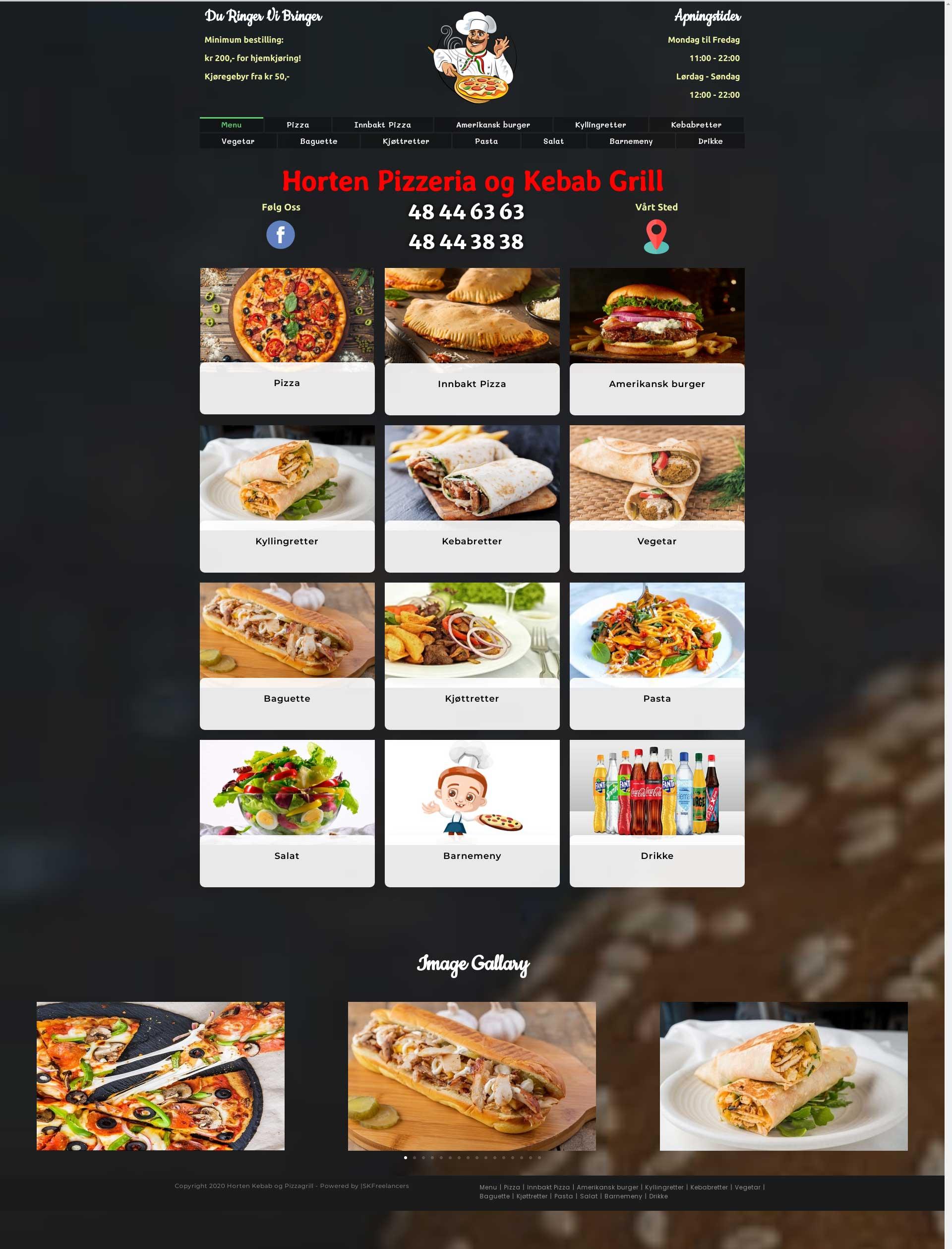 hortenpizza-hompage