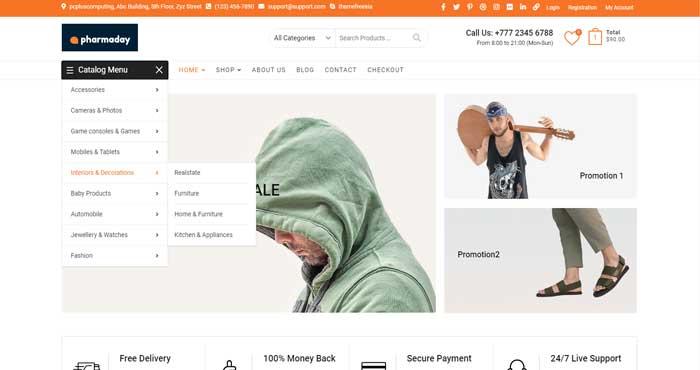pharma-day-ecommerce-website-sample