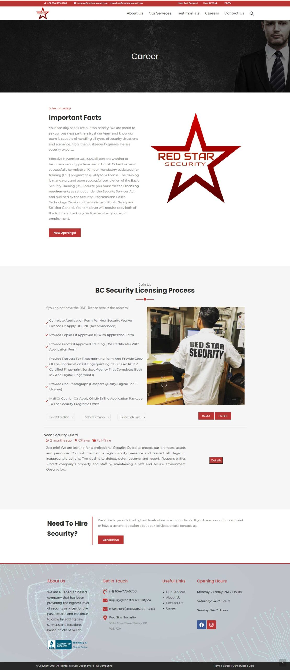 red-star-security-career-page