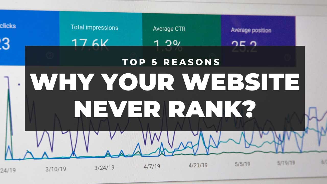 Why your website never rank (Top 5 Reasons)