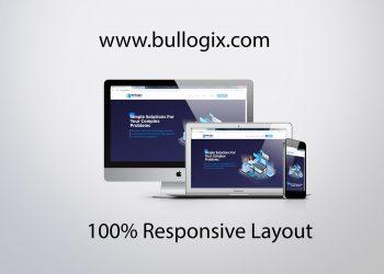 bullogix.com mockup design