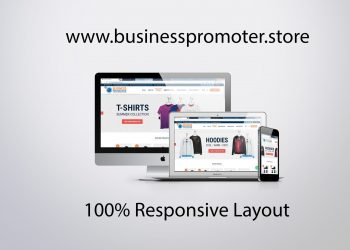 business promoter store website layout