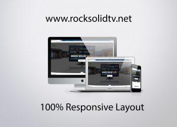 rocksolidtv.net mockup design
