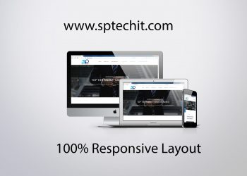 sptechit website layout